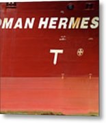 Sloman Hermes Detail With Anchor 051718 Metal Print