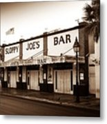Sloppy Joe's - Key West Florida Metal Print by Bill Cannon