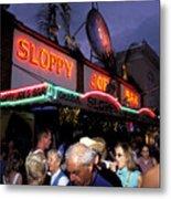 Sloppy Joes Bar Metal Print