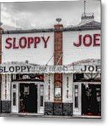 Sloppy Joe's Saloon- Key West Metal Print