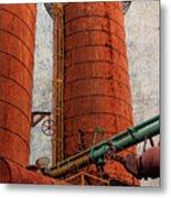 Sloss Boiler Metal Print