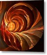Slot Canyon Spiral Metal Print