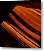 Slot Canyon Striations Metal Print