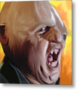 Sloth From Goonies Metal Print by Brett Hardin