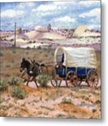 Slow Boat To Chinle Metal Print