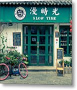 Slow Time Metal Print