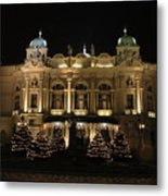 Slowacki Theatre Metal Print