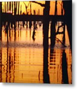 Slue Sunset Metal Print