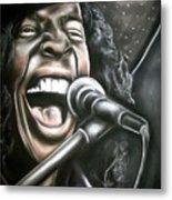 Sly Stone Metal Print