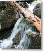 Small Beautiful Waterfalls Metal Print by Tom Johnson