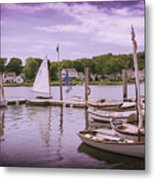 Small Boat Day Metal Print