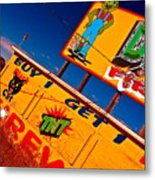 Small Business Last Stand Metal Print