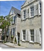 Small Colonial Style Homes Metal Print