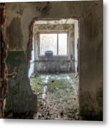 Small Cozy Room Metal Print