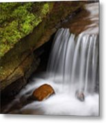 Small Falls At Governor Dodge State Park Metal Print