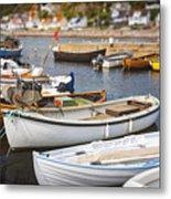 Small Fishing Boats Metal Print