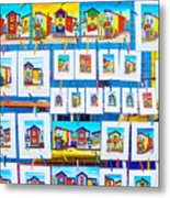 Small Paintings For Sale In La Boca Area Of Buenos Aires-argentina  Metal Print