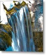 Small Stop Motion Waterfall Metal Print