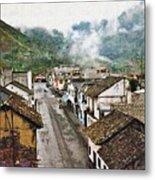 Small Town Ecuador Metal Print