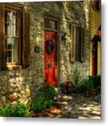 Small Town Usa Metal Print