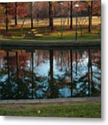 Small Urban Park Metal Print