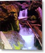 Small Waterfalls  Metal Print