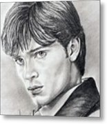 Smallville  Tom Welling Metal Print
