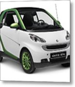 Smart Fortwo Electric Drive Metal Print