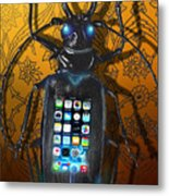 Smart Phone Metal Print