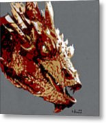 Smaug The Unassessably Wealthy Metal Print