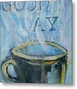 Smell The Coffee Metal Print