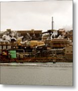 Smelter Works Metal Print