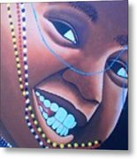 Smiling Kid Metal Print