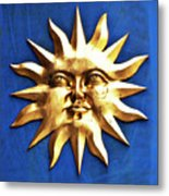Smiling Sunshine Metal Print
