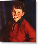 Smiling Tom Thomas Cafferty 1924 Metal Print