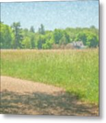 Smith Farm In June 2016 Metal Print