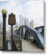 Smithfield Street Bridge Metal Print
