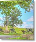 Smiths Battery Devils Den Gettysburg Metal Print