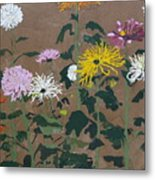 Smith's Giant Chrysanthemums Metal Print