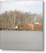 Smithville Park's Old Mill Factory Metal Print