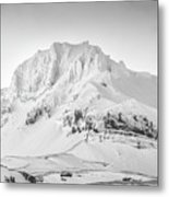 Smjorhnukur Cloaked In White Metal Print