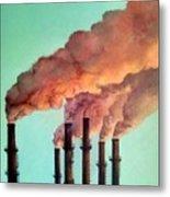 Smog Industrial II Metal Print