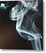 Smoke 10 Metal Print