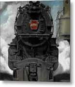 Smoke And Steam Metal Print
