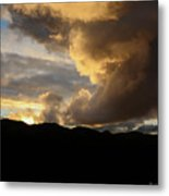 Smoke Like Sunset Metal Print