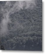 Smoke Off The Water Metal Print
