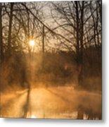 Smoke On The Water Metal Print
