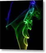 smoke XIV Metal Print