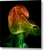 smoke XXVIII Metal Print