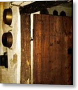 Smokehouse At The Old Farm Metal Print